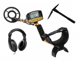 NALANDA 18khz Metal Detector, Treasure Hunters Gold Finder with 5 Detection Modes Adjustable Sensitivity and Submersible Search Coil