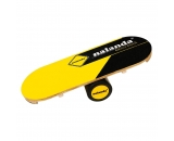 "NALANDA Balance Board, Wooden Balance Trianier for Fitness, Yoga, Training, 33'' x 12.2"" Length,6.1"