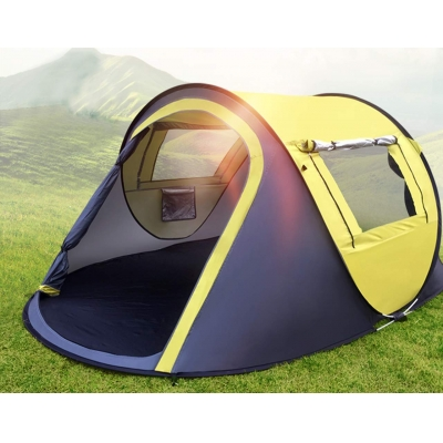 NALANDA 2-3 Person Pop Up Tent, Instant Portable Family Camping Tent Sun Shelter for Camping, Hiking, Family Traveling, Outdoor Sports,Beach